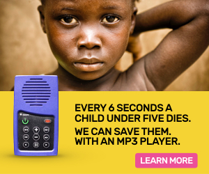 Every 6 seconds a child under five dies.